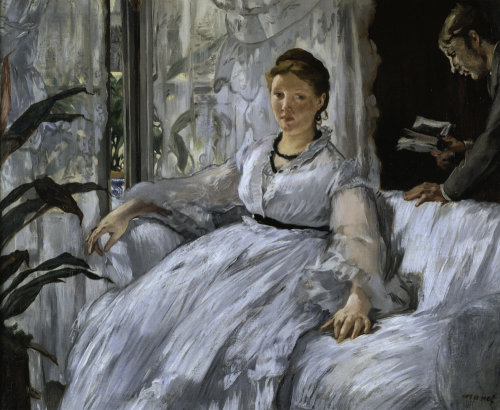 La Lecture by Edouard Manet