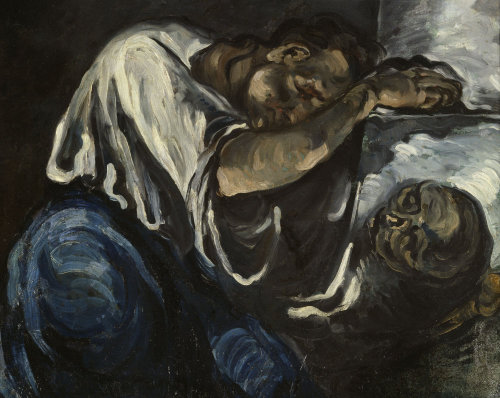 La Madelaine (detail) by Paul Cezanne