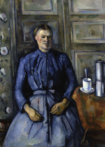 Woman with coffee pot by Paul Cezanne