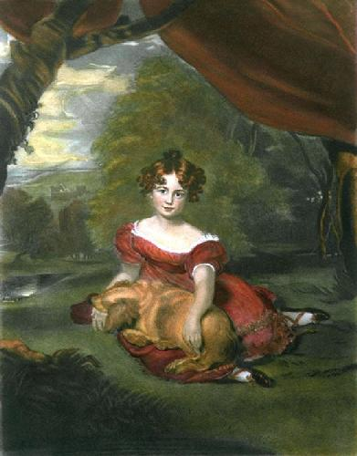 Miss Peel (Restrike Etching) by Sir Thomas Lawrence