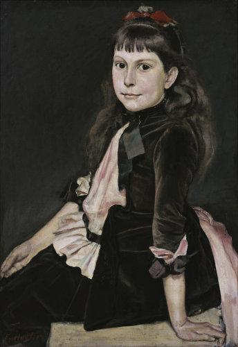 Portrait of Marguerite Renaud by Ferdinand Hodler