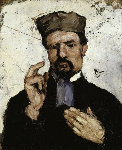 The Lawyer (Portrait of uncle Dominique) by Paul Cezanne