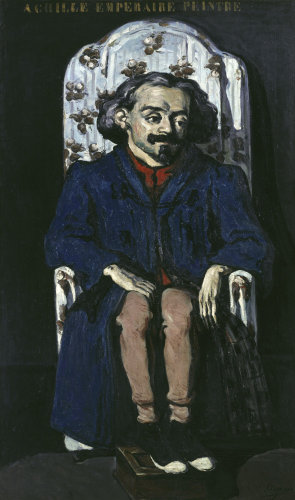 Achille Emperaire by Paul Cezanne
