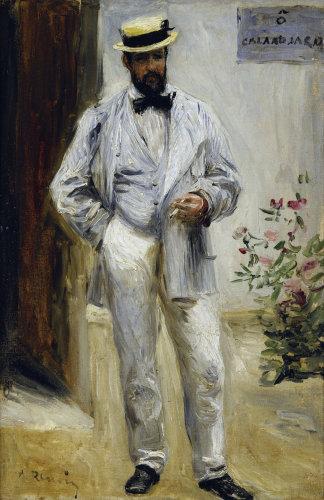 Charles Le Coeur by Pierre Auguste Renoir