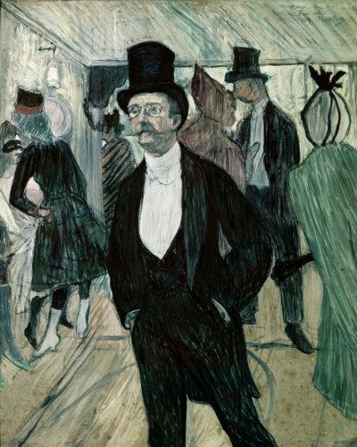 Portrait of Henri Fourcade by Henri de Toulouse-Lautrec
