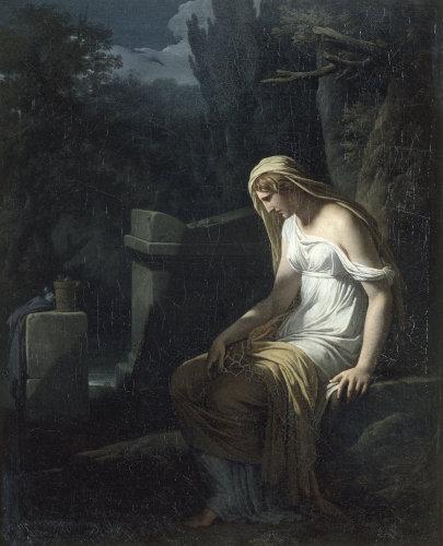 Melancholy by Francois Andre Vincent