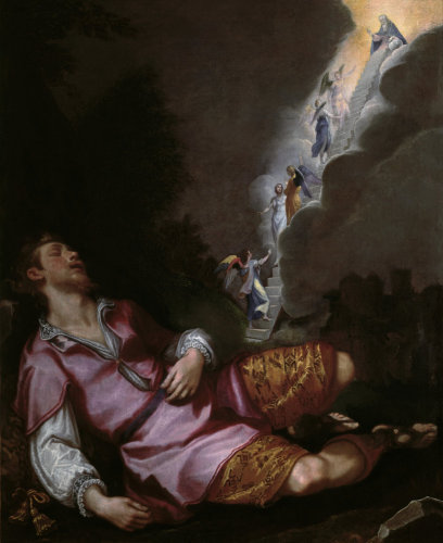 Jacob's Dream of the Heavenly Ladder by Ludovico Cardi da Cigoli