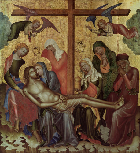 Lamentation of Christ by Master of Hohenfurth
