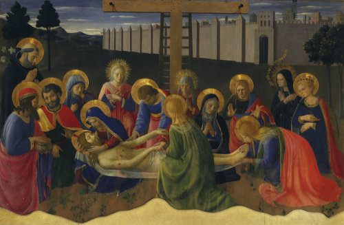 Lamentation of Christ by Attributed to Fra Angelico