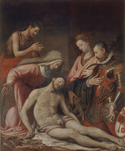 Lamentation of Christ by Santi di Tito