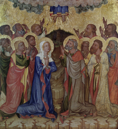 Ascension of Christ by Master of Hohenfurth