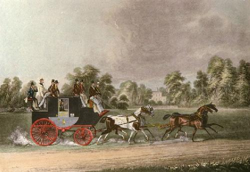 Taglioni (Restrike Etching) by James Pollard