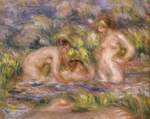 The Bathers by Pierre Auguste Renoir