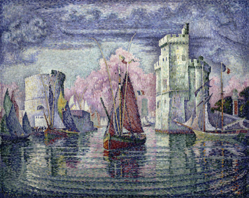 The Port of La Rochelle by Paul Signac