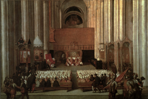 The Council of Trent by Titian