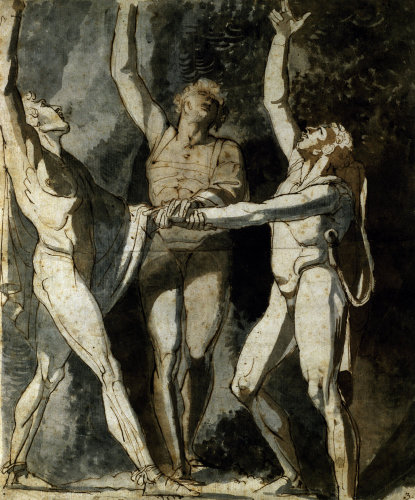 The Ruetli Oath by Henry Fuseli