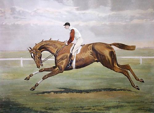 Sir Hugo (Restrike Etching) by Harrington Bird