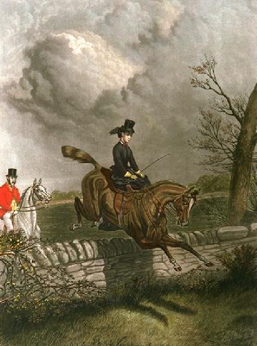 Shewing the Way (Restrike Etching) by Sturgess