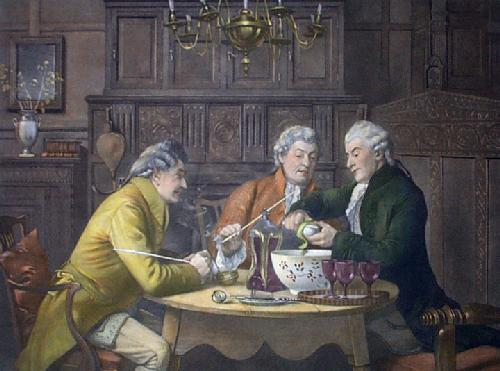 Punch Bowl (Restrike Etching) by Walter Dendy Sadler