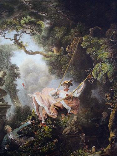 Swing, The (Restrike Etching) by Jean-Honoré Fragonard