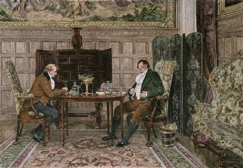 When We Were Boys Together (Restrike Etching) by Walter Dendy Sadler