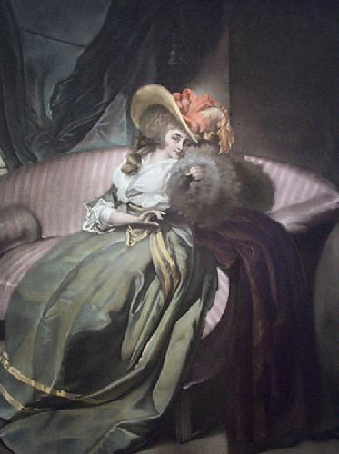 La Coquette (Restrike Etching) by John Wilson
