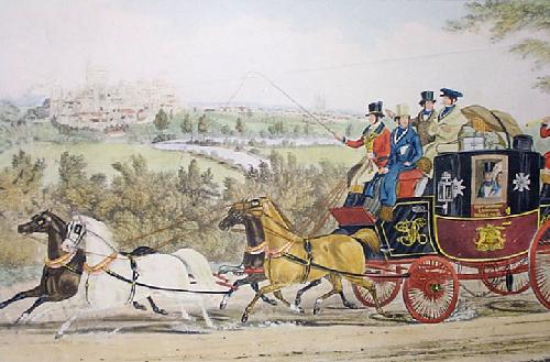 Windsor, The Birthday Team (Restrike Etching) by Charles Hunt