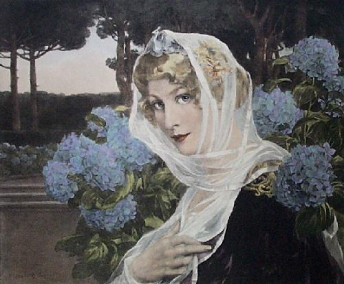 Queen of Summer (Restrike Etching) by Elizabeth Sonrell