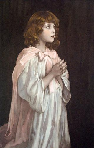 Our Father Which Art In Heaven (Restrike Etching) by Dampier-May