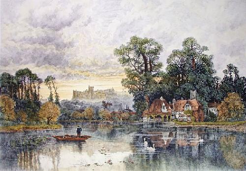 Windsor (Restrike Etching) by Karl Heffner