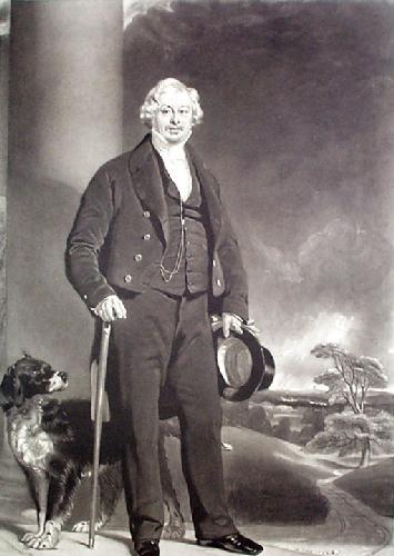 Mr Thomas Gifford (Restrike Etching) by J.P. Knight