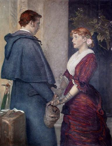 Yes (Restrike Etching) by Sir John Everett Millais