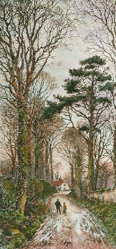 Where Many Branches Meet (Restrike Etching) by Frederick Albert Slocombe