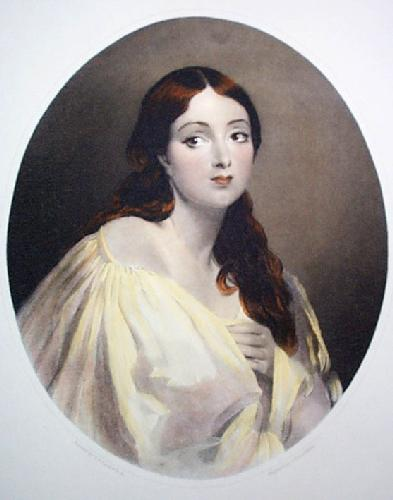Griselda (Restrike Etching) by Charles Robert Leslie