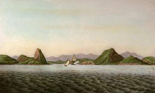 Rio De Janeiro, (Harbour) (Restrike Etching) by Sydenham