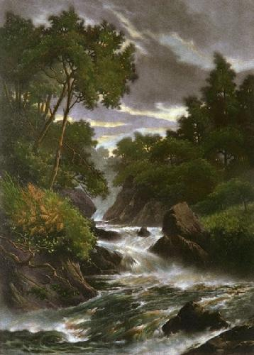 Yorkshire Beck (Restrike Etching) by Anonymous