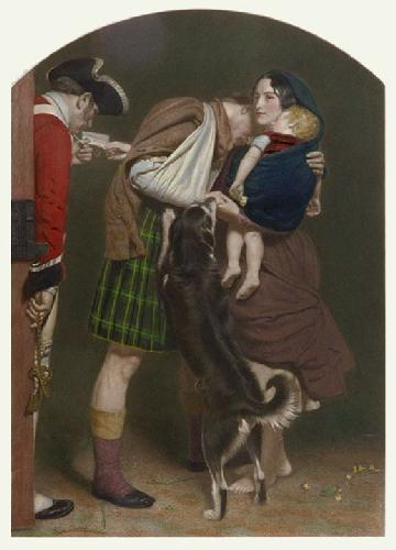 Order of Release, The (Restrike Etching) by Sir John Everett Millais