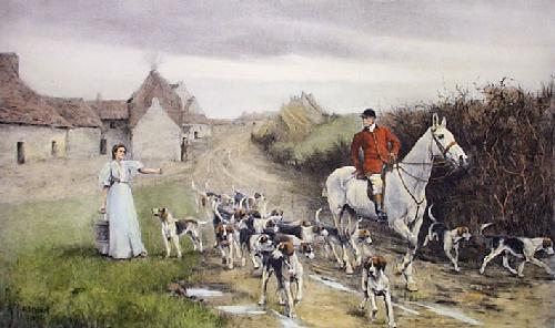 Morning Greeting (Restrike Etching) by Amy Stobart