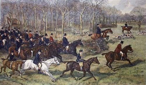 Going Away (Restrike Etching) by A.H. Wardlow