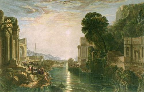 Dido Building Carthage (Restrike Etching) by Joseph Mallord William Turner