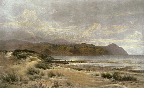 Conway Bay (Restrike Etching) by Benjamin Williams Leader