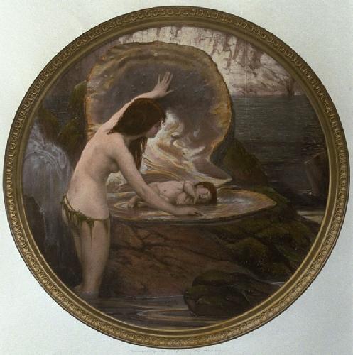 The Waterbaby (Restrike Etching) by Herbert James Draper