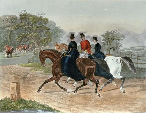 Going to Meet (Restrike Etching) by Francis Calcraft Turner