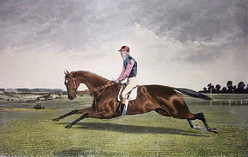 Kingcraft (with Rider) (Restrike Etching) by Walter Hunt