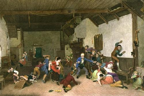 Blind Man's Bluff (Restrike Etching) by Wilkie