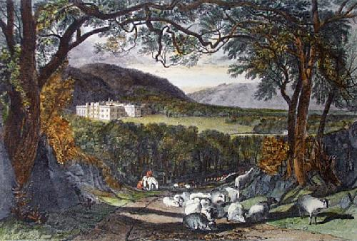 Aske Hall (Restrike Etching) by Joseph Mallord William Turner