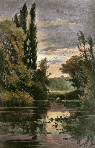 Kew Gardens - Plate 13 (Restrike Etching) by Georgina M De L'Aubiniere