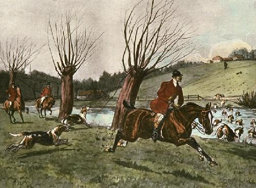 Straight Goer (Restrike Etching) by Thornley