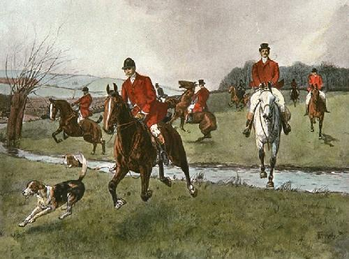 Thinning Field (Restrike Etching) by Thornley