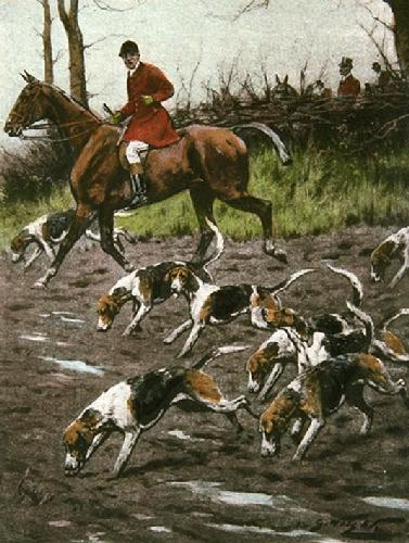 Over the Plough (Restrike Etching) by Wright